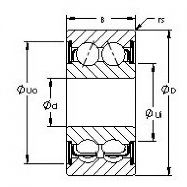 AST 5315ZZ AST Bearing #3 image