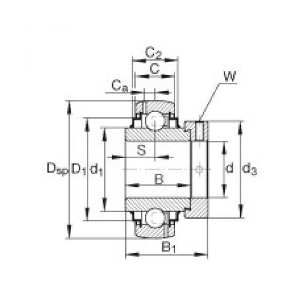 INA G1008-KRR-B-AS2/V INA Bearing #3 image